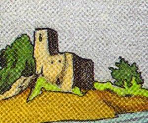 cinco de copas - castelo