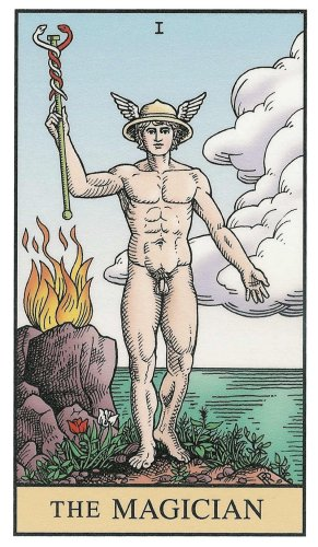 The Magician - Alchemical Tarot, by Robert Michael Place