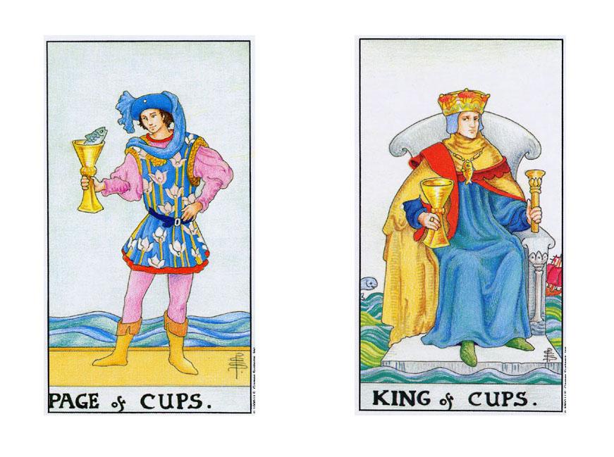 Valete e Rei de Copas